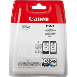 PACK CARTOUCHES CANON 545...