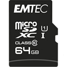 EMTEC - MICRO SD 64 GB